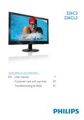 Philips 226C2SB/00 LCD Monitor New