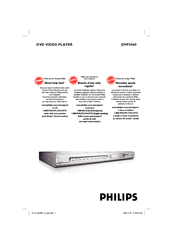 Philips DVP 3960 Owner's Manual