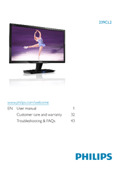 Philips 239CL2SB/27 Monitor Drivers for Windows