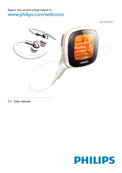 Philips ACT211/17 MP3 Player Update