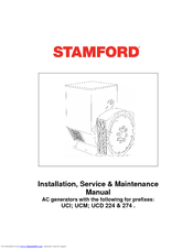 [DIAGRAM_38IU]  STAMFORD AC GENERATORS INSTALLATION & MAINTENANCE MANUAL Pdf Download |  ManualsLib | Wiring Diagram Stamford Generator |  | ManualsLib