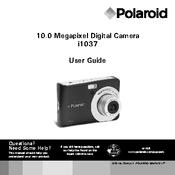 polaroid t1035 manuals rh manualslib com Polaroid T1031 Battery Polaroid 1035 Digital Charger