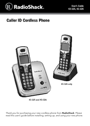 radio shack 43 326 manuals rh manualslib com  radio shack phone 43-326 manual