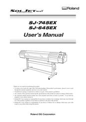 Roland Sj 745ex Manuals Manualslib