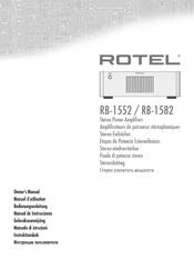 rotel rb 1552 manuals rh manualslib com