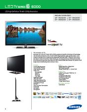 samsung smart tv un60d6000 manuals rh manualslib com samsung un60d6000 manual pdf Samsung Refrigerator Repair Manual