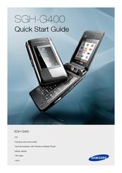 Sghg400 pcs gsm/edge phone with bluetooth user manual g400. Book.