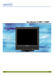 Samsung SyncMaster 710MP Owner's Manual