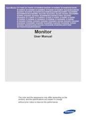 samsung syncmaster ex2220 manuals rh manualslib com Manual Samsung UN32EH4000F Samsung Galaxy S3 User Guide