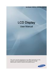 samsung syncmaster 400ex manuals rh manualslib com Samsung User Manual Guide Samsung User Manual Guide