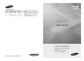 Samsung LN46C650L1F User Manual