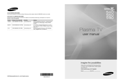 Samsung PN63C550 User Manual