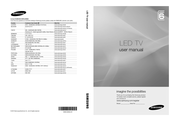 Samsung UE37C6500 User Manual