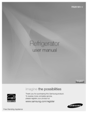 Samsung RS261MDBP User Manual