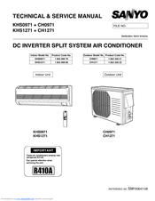 sanyo ch0971 manuals Split Air Conditioner Split System Air Conditioner