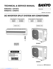 sanyo khs1872 manuals rh manualslib com Split Aircon Office Cool Split Air Con R-410A 12K