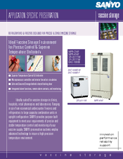 Sanyo MPR-414F - Commercial Solutions Refrigerator Brochure