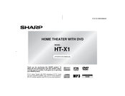 Sharp HT-X1 Operation Manual