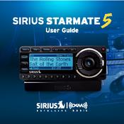 sirius satellite radio starmate 5 manuals rh manualslib com Sirius Boombox Sirius Radio Vehicle Kit