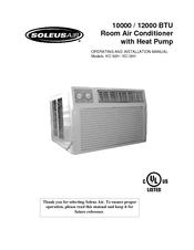 Soleus Air Kc 35ha Manuals