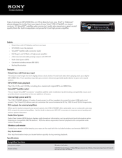 sony cdx gt360mp manuals sony cdx gt360mp specifications
