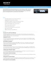 sony dsx ms60 manuals rh manualslib com Sony DSX S100 Digital Media Receiver Sony DSX-MS60 Marine Stereo