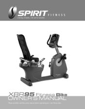 spirit xbr95 manual