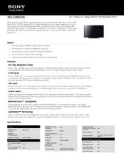 sony bravia kdl 22bx320 manuals rh manualslib com