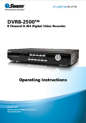 swann dvr8 2500 manuals rh manualslib com Swann DVR Setup swann dvr8-2600 software download