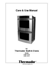 thermador c301 manuals rh manualslib com thermador oven user manual thermador wall oven manual