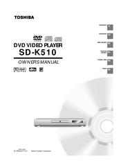 toshiba sd k510 manuals rh manualslib com