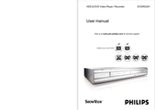 Philips DVDR520H/05 User Manual