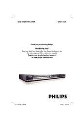 Philips DVP5166K/61 Manual