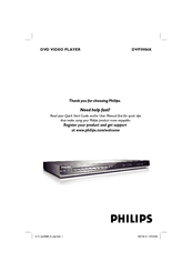 Philips DVP5986K/93 User Manual