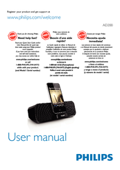 Philips AD-200 User Manual