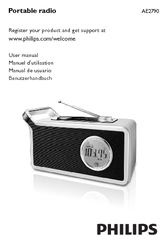 philips ae2790 12 manuals rh manualslib com Philips Portable Audio Philips Portable Speakers Home