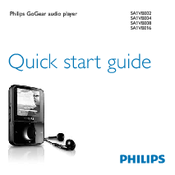 philips gogear sa1vbe04 4gb manuals rh manualslib com philips gogear vibe manual español philips gogear vibe notice