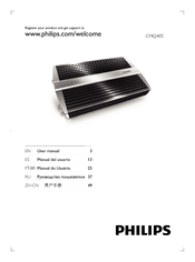 Philips CMQ405/00 User Manual