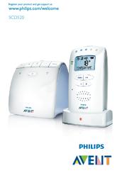 Elnätsdrift, använda apparaten | philips avent dect baby monitor.