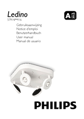 Manuals and User Guides for Philips Ledino 57914/31/16. We have 4 Philips  Ledino 57914/31/16 manuals available for free PDF download: User Manual, ...