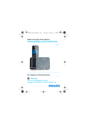 Philips ID5551B/55 Manual