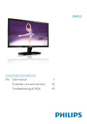 Philips 234CL2SB/00 LED Monitor Driver Windows