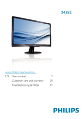 PHILIPS 243E2SB00 MONITOR DRIVER FOR WINDOWS 8
