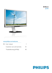 Philips 221P3LPEB/00 Monitor Windows Vista 32-BIT