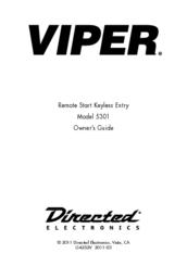 viper 5301 owner s manual pdf download rh manualslib com Viper Remote Start Viper 5301 Remote