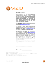 vizio jv50p user manual pdf download rh manualslib com Vizio TV Stand Screw Size Vizio TV Stand Screw Size