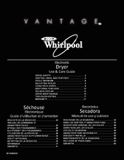 Whirlpool Vantage WED7990XG Use & Care Manual