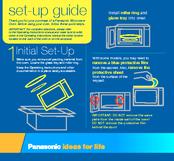 Panasonic NNS669BA Setup Manual