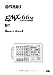 Yamaha powered mixer Owner's Manual