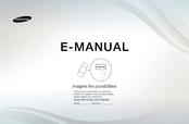 Samsung UE40D5003BW E-manual